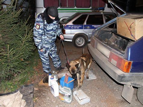 ВКостромской области полицейские взяли семейную пару наркоторговцев