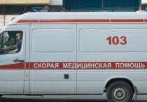 В центре Москвы на голову девочке упали строительные леса