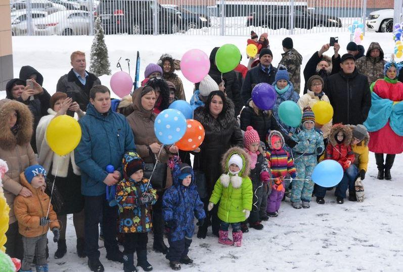Новый детский парк на280 мест открыт взаволжском районе Костромы