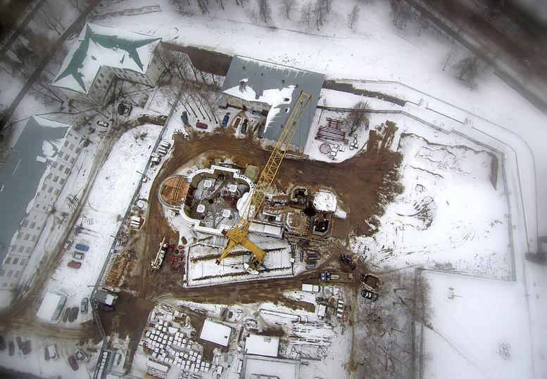Картинки по запросу Сергей Ситников и Виктор Тырышкин обсудили ход строительства Костромского кремля