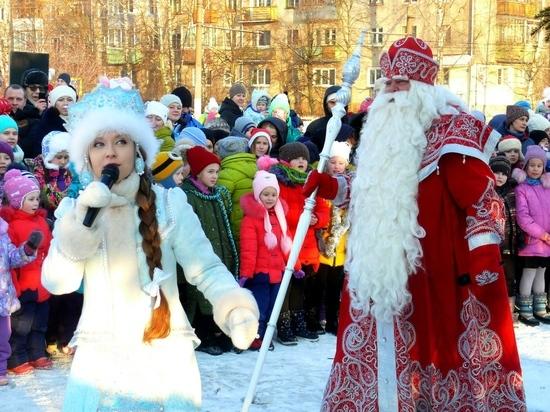 Российский Дед Мороз дал старт новогодним праздникам в Костромской области