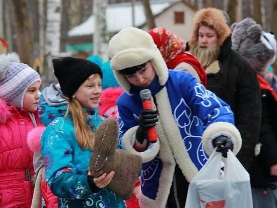 Зимний фестиваль «Выходи гулять!» объединил тысячи костромичей