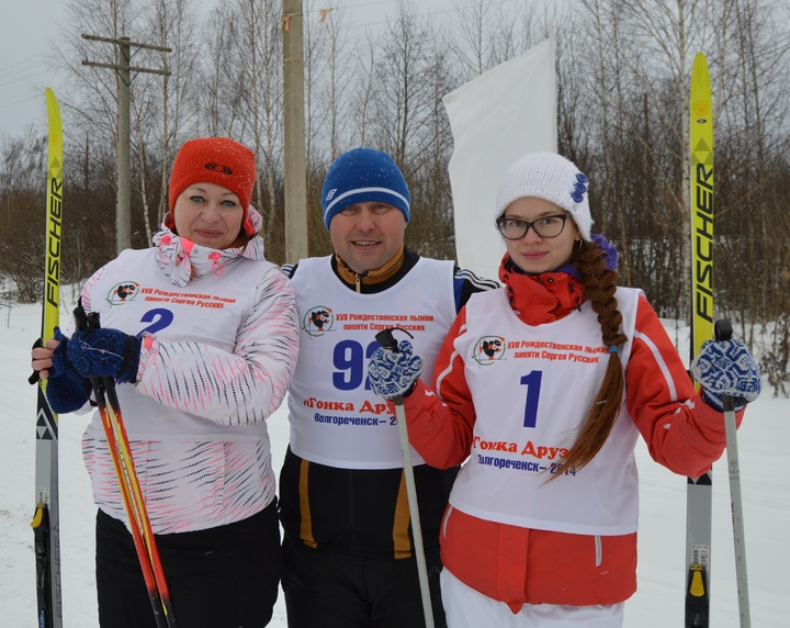 Наши гонки: Более 200 человек прошли на лыжах в память о Сергее Русских