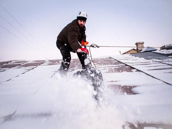 Сергей Ситников потребовал от глав муниципалитетов обеспечить должный контроль за работами по очистке крыш от снега